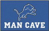 Fan Mats NFL Detroit Lions Man Cave Ulti-Mat