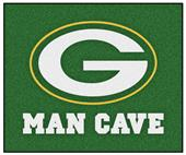 Fan Mats Green Bay Packers Man Cave Tailgater Mat