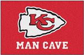 Fan Mats Kansas City Chiefs Man Cave Starter Mat