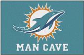 Fan Mats NFL Miami Dolphins Man Cave Starter Mat