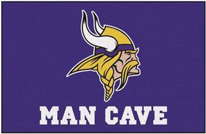 Fan Mats NFL Minnesota Viking Man Cave Starter Mat