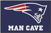 Fan Mats New England Patriots Man Cave Starter Mat