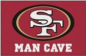 Fan Mats San Francisco 49ers Man Cave Starter Mat