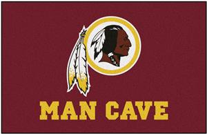 Fan Mats Washington Redskins Man Cave Starter Mat