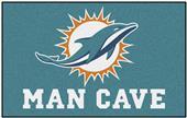 Fan Mats NFL Miami Dolphins Man Cave Ulti-Mat