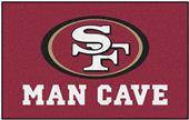 Fan Mats NFL San Francisco 49ers Man Cave Ulti-Mat
