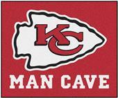 Fan Mats Kansas City Chiefs Man Cave Tailgater Mat
