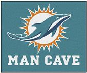 Fan Mats Miami Dolphins Man Cave Tailgater Mat