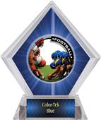 Awards PR1 Football Blue Diamond Ice Trophy