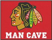 Fan Mats NHL Blackhawks Man Cave All-Star Mat