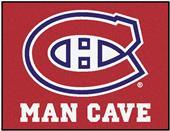 Fan Mats NHL Canadiens Man Cave All-Star Mat