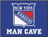 Fan Mats NHL NY Rangers Man Cave All-Star Mat