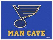 Fan Mats NHL St. Louis Blues Man Cave All-Star Mat