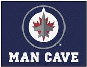 Fan Mats NHL Winnipeg Jets Man Cave All-Star Mat