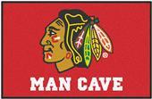 Fan Mats NHL Blackhawks Man Cave Starter Mat