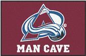 Fan Mats NHL Avalanche Man Cave Starter Mat
