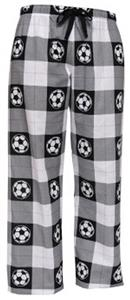 Boxercraft Adult Fashion Soccer Flannel Pants