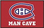 Fan Mats NHL Canadiens Man Cave Starter Mat