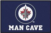 Fan Mats NHL Winnipeg Jets Man Cave Starter Mat