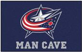 Fan Mats NHL Blue Jackets Man Cave Ulti-Mat