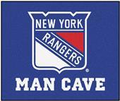 Fan Mats NHL NY Rangers Man Cave Tailgater Mat