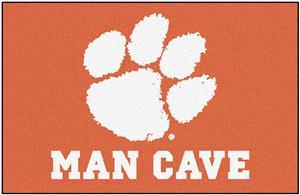Fan Mats Clemson University Man Cave Starter Mat