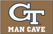 Fan Mats Georgia Tech Man Cave Starter Mat