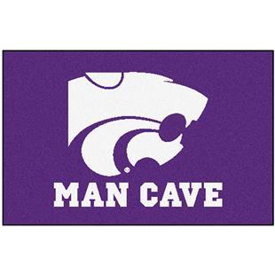 Fan Mats Kansas State Univ. Man Cave Starter Mat