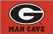 Fan Mats Univ. of Georgia Man Cave Starter Mat