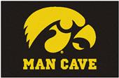 Fan Mats University of Iowa Man Cave Starter Mat