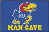 Fan Mats University of Kansas Man Cave Starter Mat