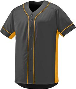 Augusta Full Button Slugger Baseball Jersey