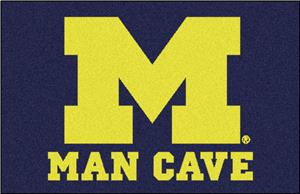 Fan Mats Univ. of Michigan Man Cave Starter Mat