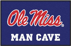 Fan Mats Univ. of Mississippi Man Cave Starter Mat