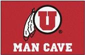 Fan Mats University of Utah Man Cave Starter Mat
