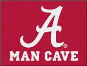 Fan Mats Univ. of Alabama Man Cave All-Star Mat