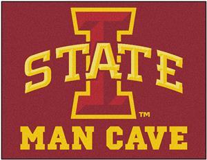 Fan Mats Iowa State Univ. Man Cave All-Star Mat