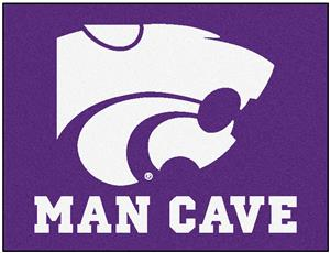 Fan Mats Kansas State Univ. Man Cave All-Star Mat