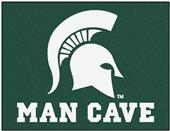 Fan Mats Michigan State Univ Man Cave All-Star Mat