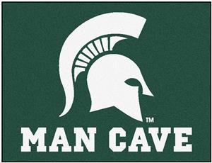 Fan Mats Michigan State Univ Man Cave All-Star Mat