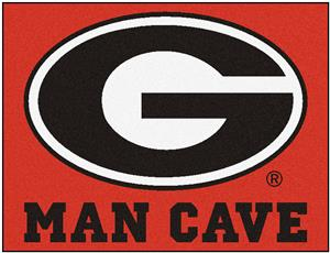 Fan Mats Univ. of Georgia Man Cave All-Star Mat