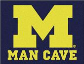 Fan Mats Univ. of Michigan Man Cave All-Star Mat