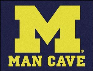 Fan Mats Univ. of Michigan Man Cave All-Star Mat
