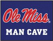 Fan Mats Univ of Mississippi Man Cave All-Star Mat