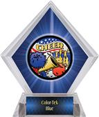 Awards Americana Cheer Blue Diamond Ice Trophy