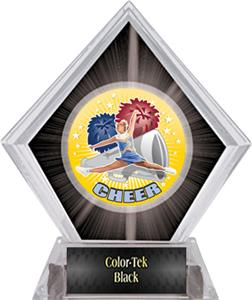 Hasty Awards HD Cheer Black Diamond Ice Trophy