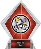Hasty Award Xtreme Cheer Red Diamond Ice Trophy