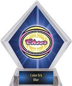 Awards Classic Cheer Blue Diamond Ice Trophy