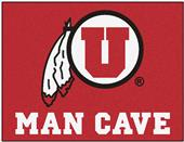 Fan Mats University of Utah Man Cave All-Star Mat