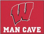 Fan Mats Univ. of Wisconsin Man Cave All-Star Mat